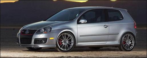 Volkswagen Golf GTI door H&R
