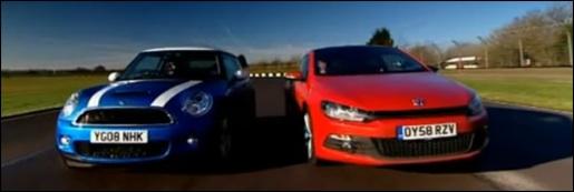 Volkswagen Scirocco 2.0 Vs. MINI Cooper S