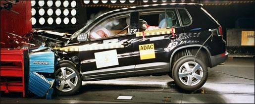 Volkswagen Tiguan Crashtest NCAP