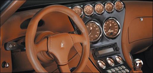 Wiesmann GT interieur retro