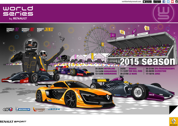 World Series By Renault: 30 & 31 mei 2015