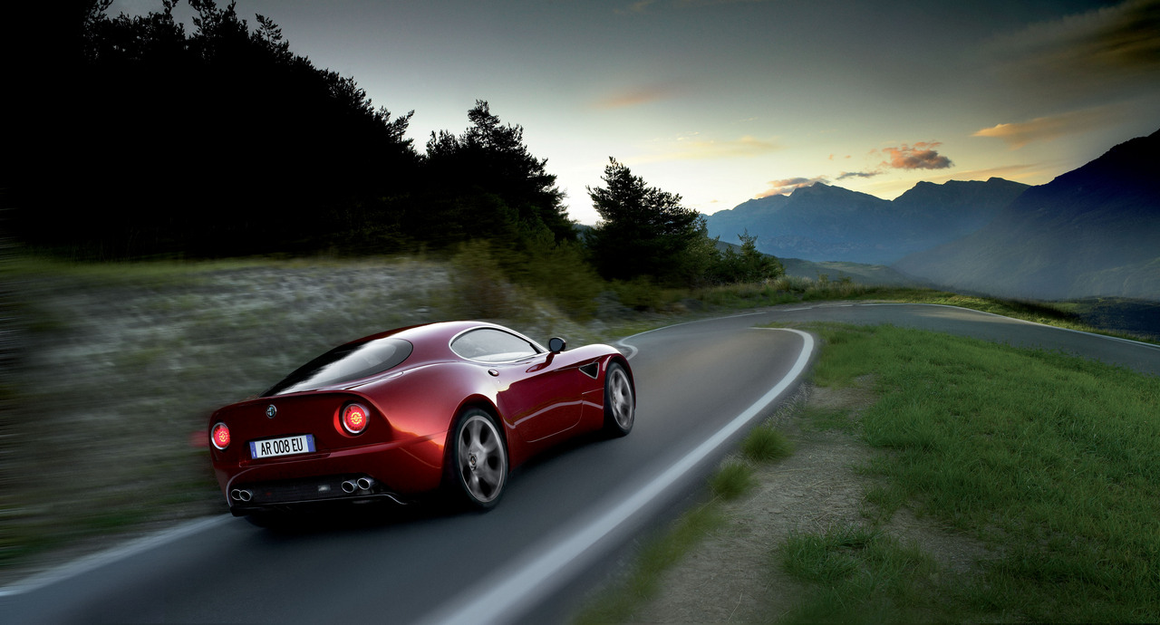 Alfa Romeo 8c Auto Wallpapers Groenlicht Be