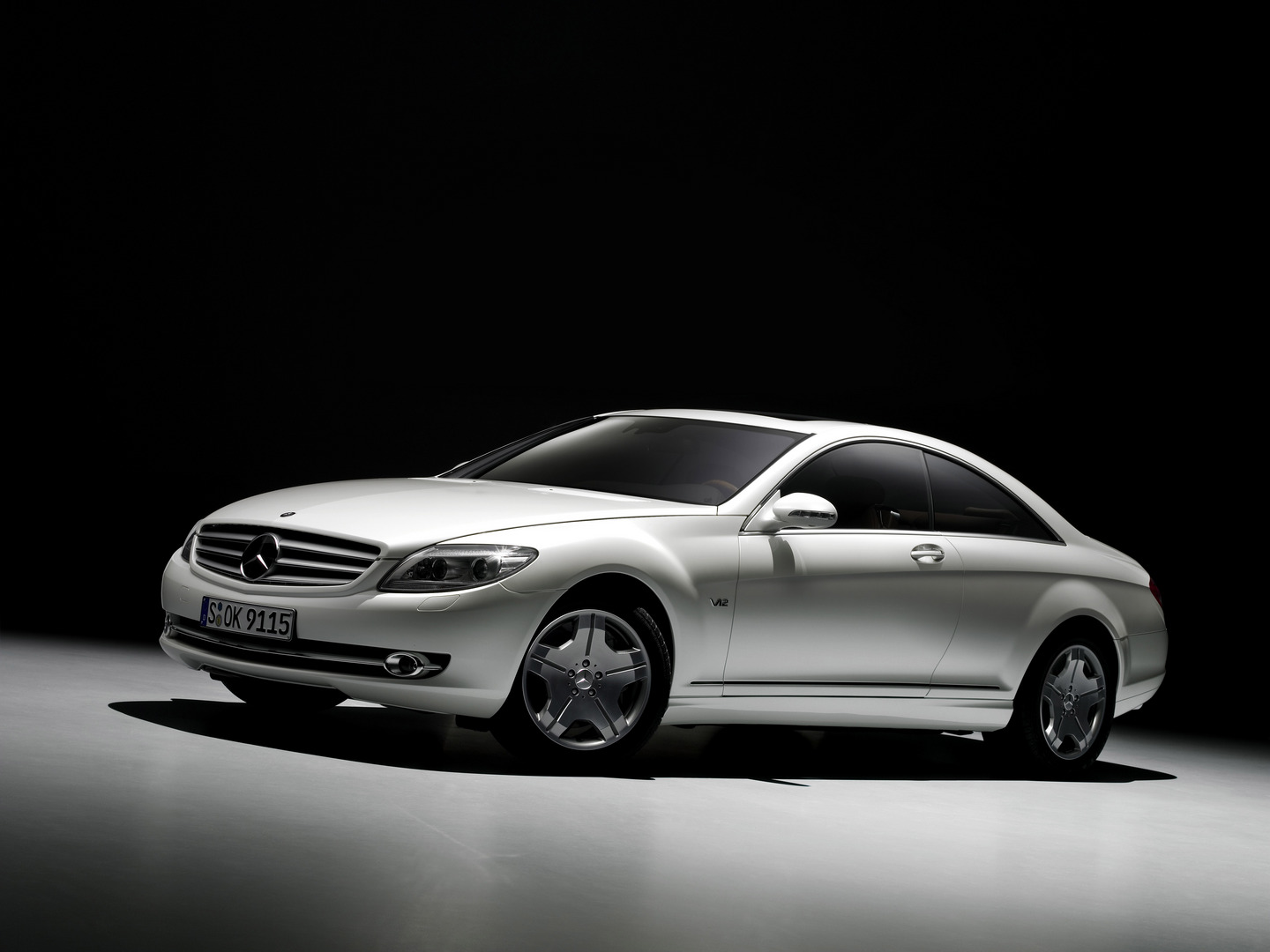 Mercedes Cl Auto Wallpapers Groenlicht Be