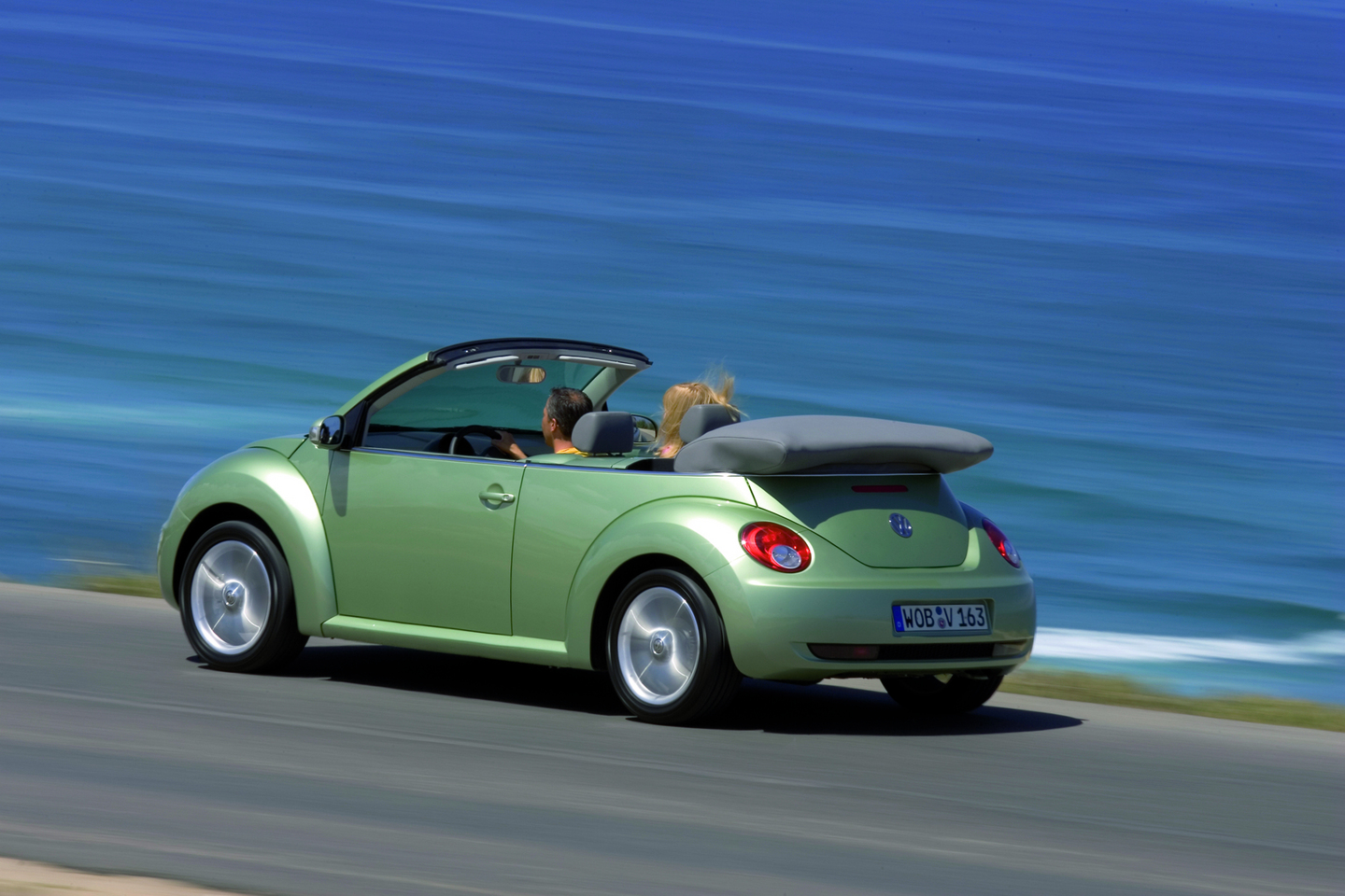 Volkswagen New Beetle Cabrio Auto Wallpapers Groenlicht Be