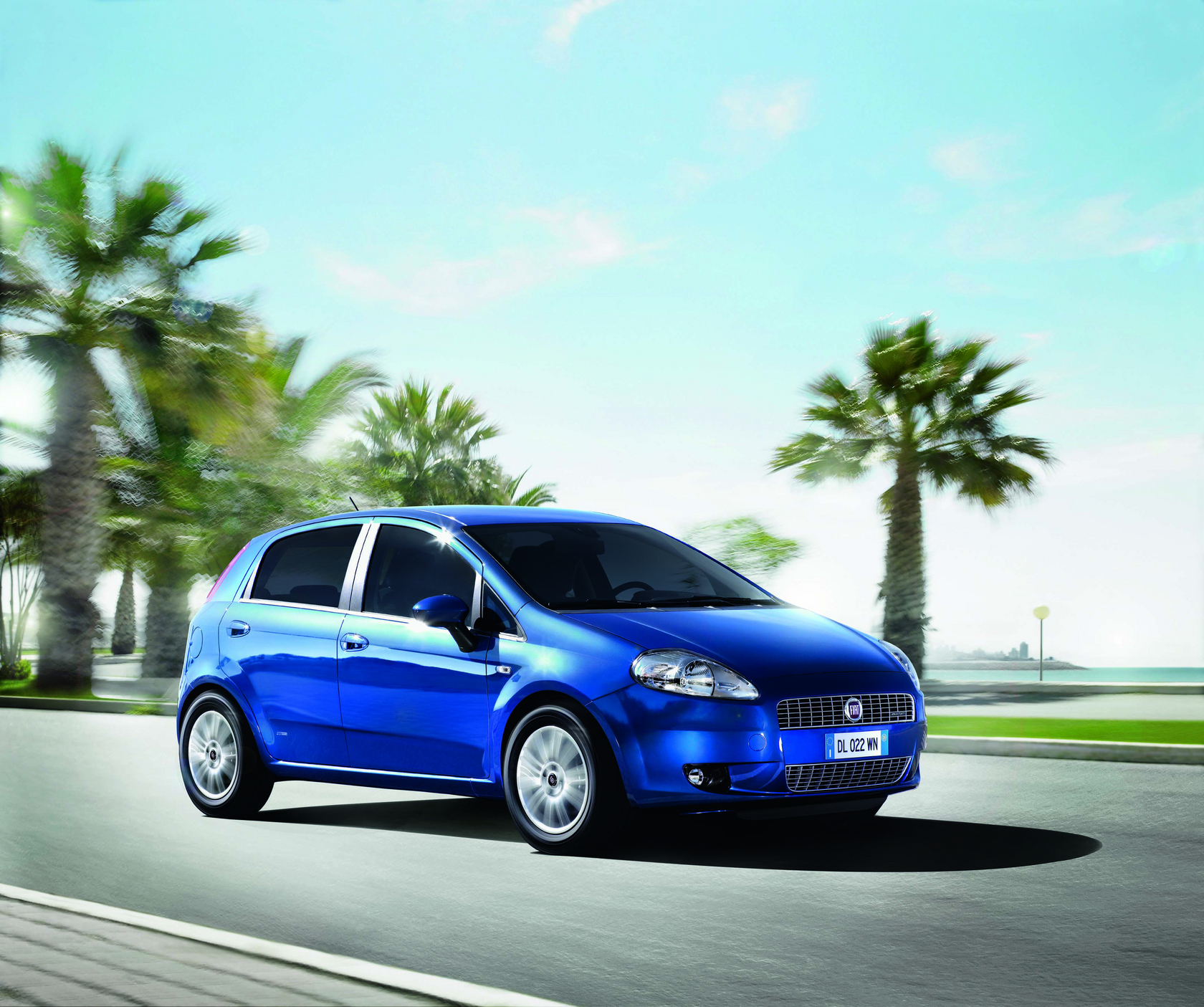Fiat Grande Punto Auto Wallpapers GroenLicht.be