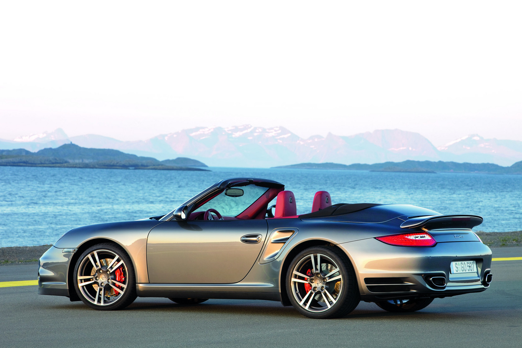 Porsche 911 Turbo Cabrio 2009 Auto Wallpapers GroenLicht.be