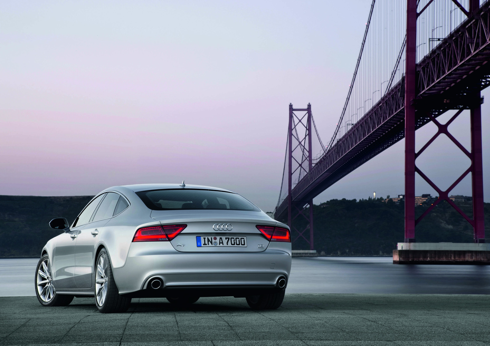 Audi A7 Sportback Auto Wallpapers GroenLicht.be