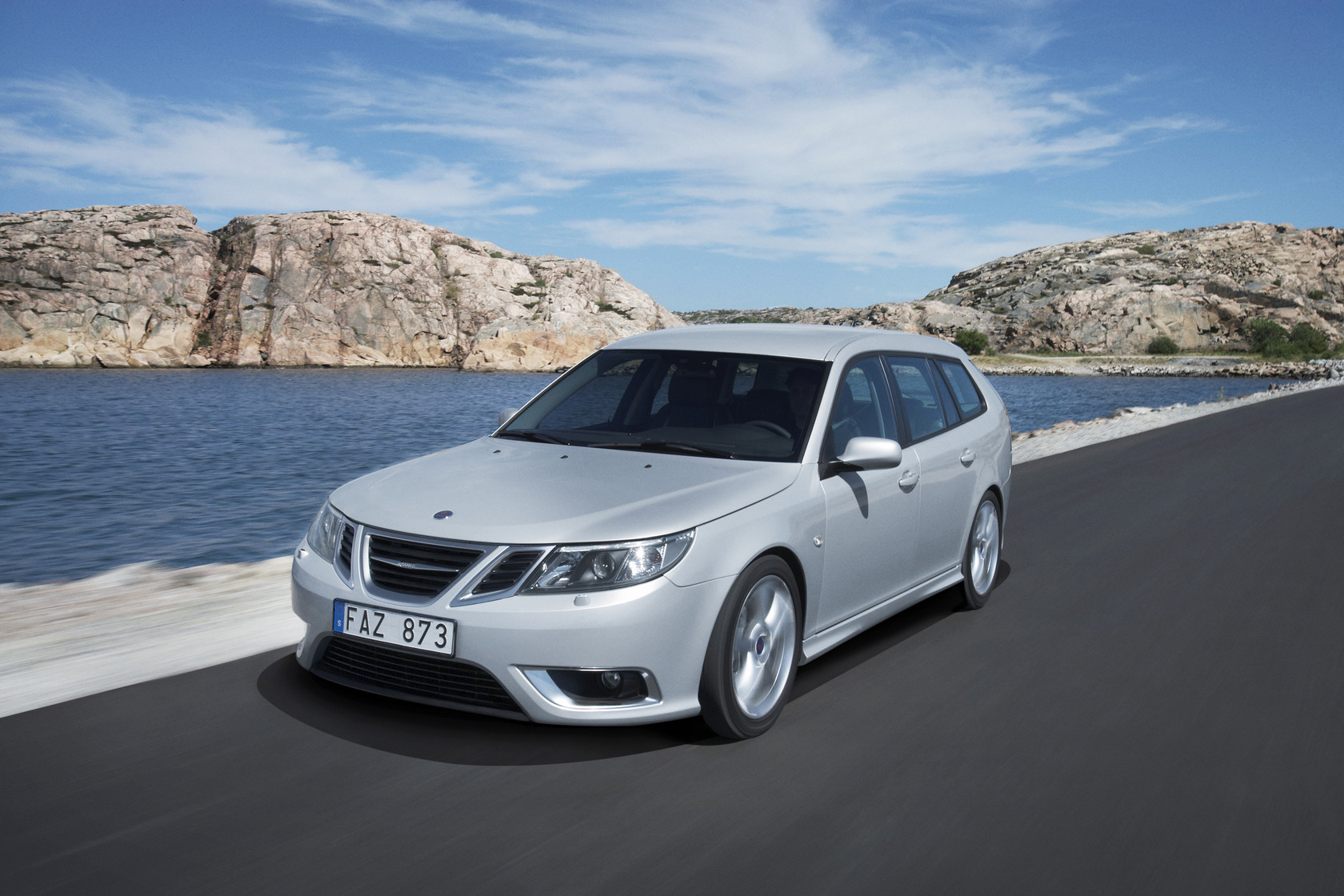 Saab 9 3 Break Auto Wallpapers GroenLichtbe